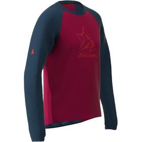 Zimtstern PureFlowz LS Shirt Men jester red/french navy